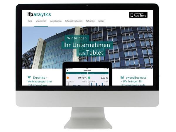 Website ifp analytics